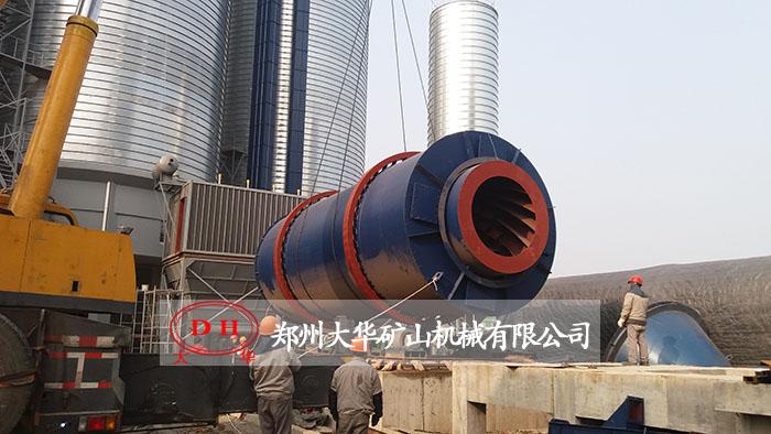 四川成都干混砂浆生产现场