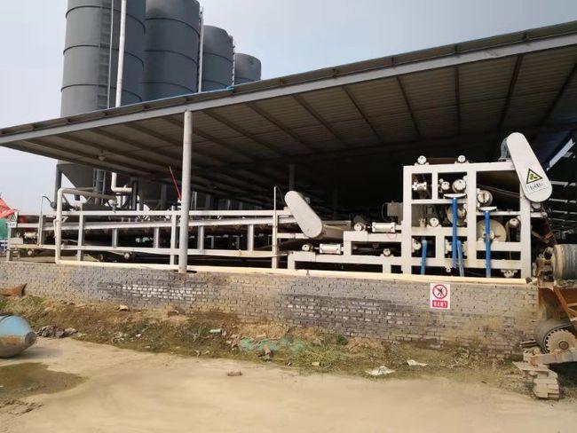 甘肃兰州砂石厂带式脱泥机现